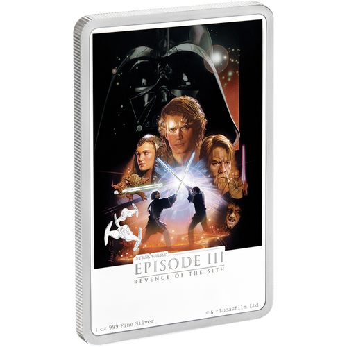 Star Wars: Revenge of the Sith 1oz Silver Coin