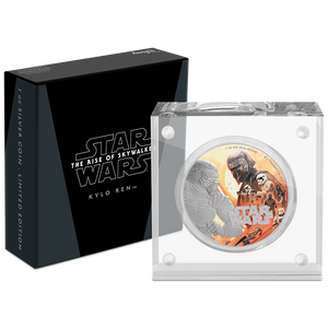 Star Wars: The Rise Of Skywalker - Kylo Ren™ 1oz Silver Coin