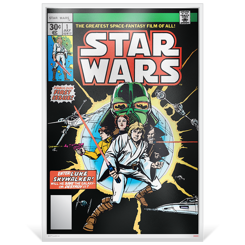 Star Wars Comics: #1 - 35g Premium Silver Foil Base
