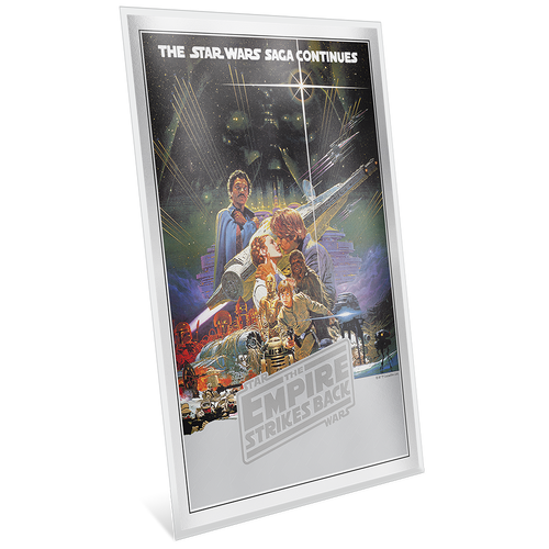 Star Wars: The Empire Strikes Back - Premium 35g Silver Foil