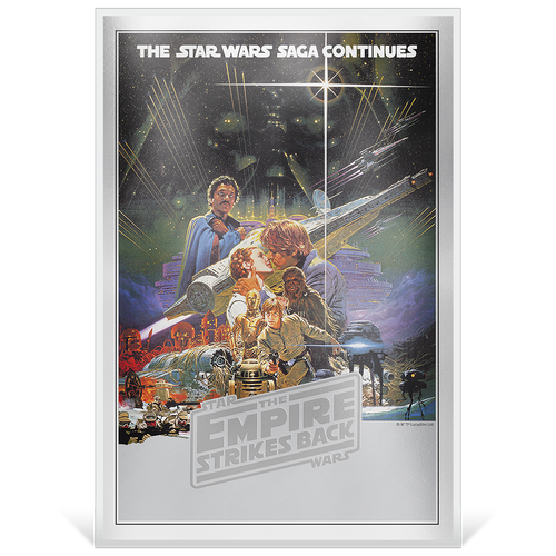 Star Wars: The Empire Strikes Back - Premium 35g Silver Foil Base