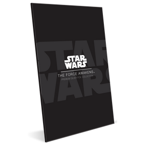 Star Wars: The Force Awakens 35g Premium Silver Foil Packaging