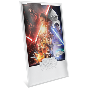 Star Wars: The Force Awakens 35g Premium Silver Foil