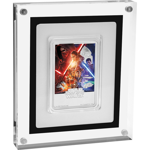 Star Wars: The Force Awakens 1oz Silver Coin Display