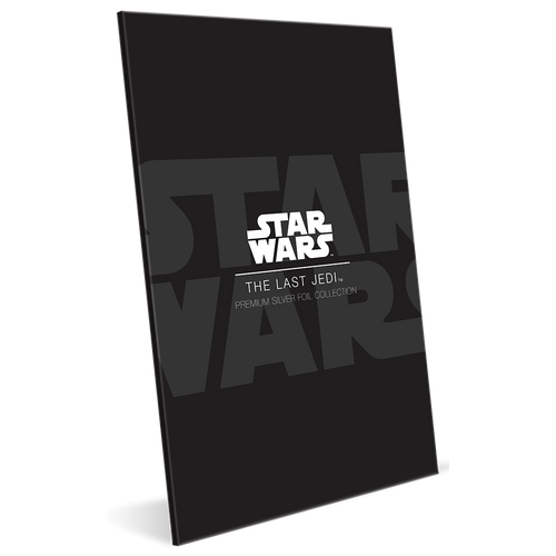 Star Wars: The Last Jedi - 35g Premium Silver Foil Packaging