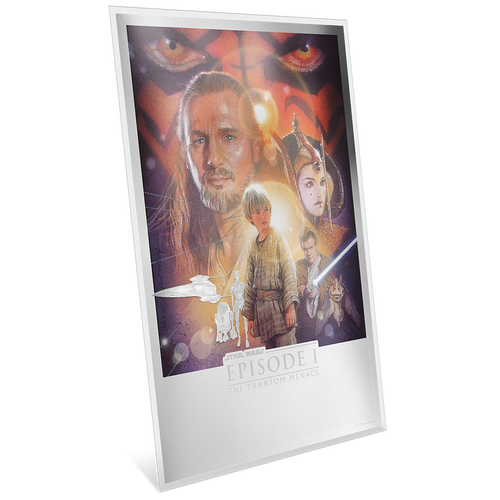 Star Wars: The Phantom Menace™ Premium 35g Silver Foil