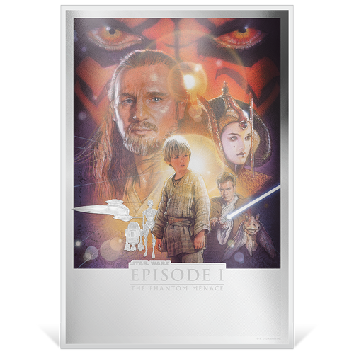 Star Wars: The Phantom Menace™ Premium 35g Silver Foil Base