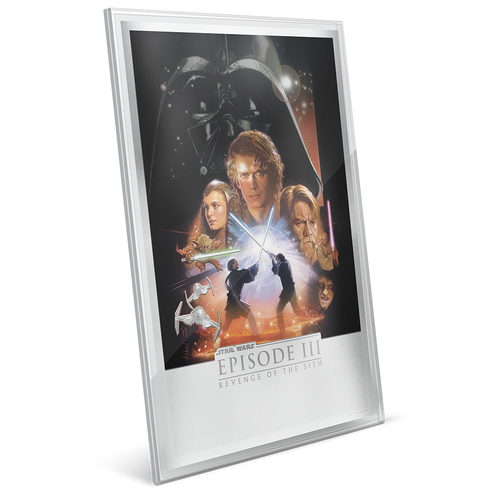 Star Wars: Revenge of the Sith 35g Premium Silver Foil