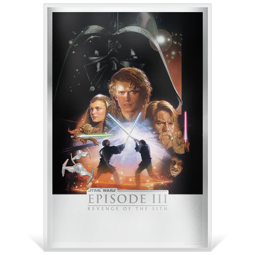 Star Wars: Revenge of the Sith 35g Premium Silver Foil Base