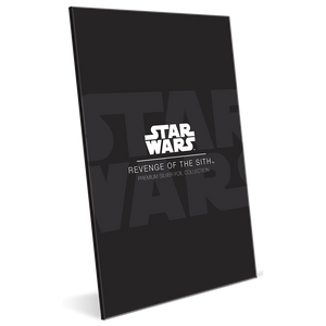 Star Wars: Revenge of the Sith 35g Premium Silver Foil Packaging