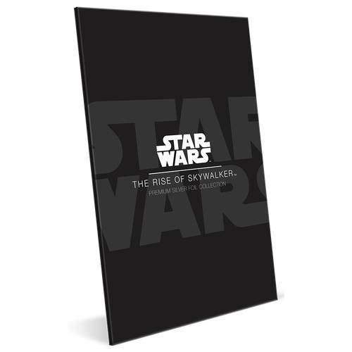 Star Wars: The Rise of Skywalker 35g Premium Silver Foil Sleeve Display Box