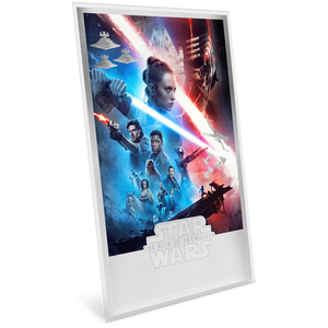 Star Wars: The Rise of Skywalker 35g Premium Silver Foil NZ Mint