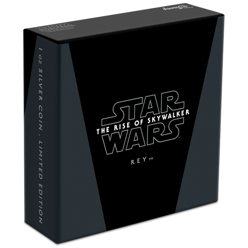 Star Wars: The Rise of Skywalker - Rey™ 1oz Silver Coin Box