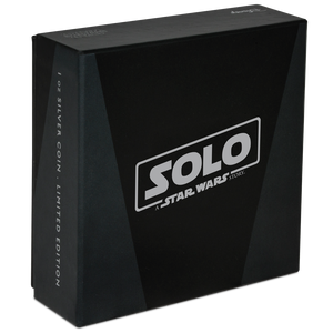 Star Wars™: Solo - A Star Wars Story 1oz Silver Coin Box