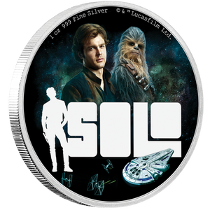 Star Wars™: Solo - A Star Wars Story 1oz Silver Coin | NZ Mint
