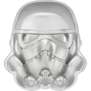 Star Wars Helmets: Stormtrooper Helmet Ultra High Relief 2oz Silver Coin
