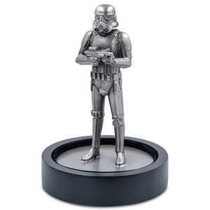 Star Wars – Stormtrooper™ 130g Silver Miniature