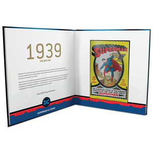 SUPERMAN™ 80th Anniversary Silver Coin Note Collection