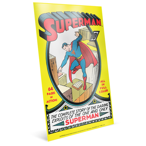 SUPERMAN™ 80th Anniversary Silver Coin Note