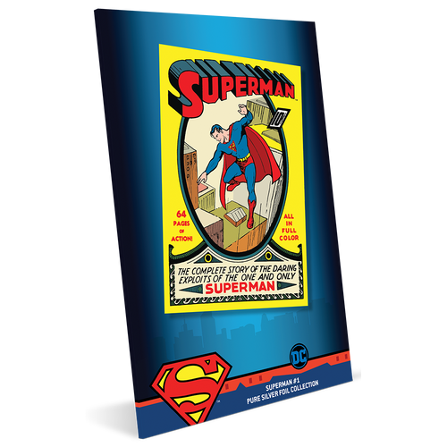 SUPERMAN™ #1 - 35g Pure Silver Foil