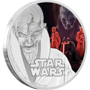 Star Wars: The Last Jedi - Supreme Leader Snoke™ 1oz Silver Coin