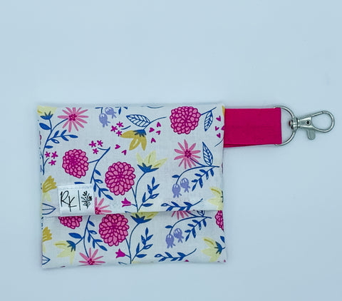 Pink Mums Floral Carry Case