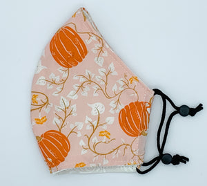 Jr. Bibbidi Bobbidi - Soft Pink with Pumpkins on Vines