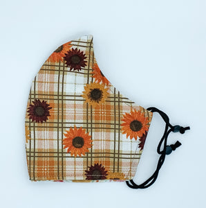 Fall Walk - Orange and Brown with Sunflowers