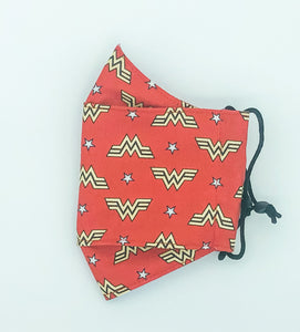 3 Layer WW 1984 - Red with Wonder Woman Logo