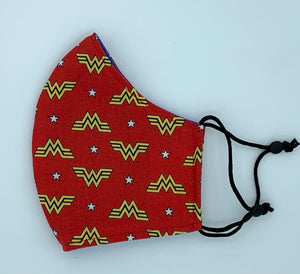 WW 1984 - Red with Wonder Woman Logo