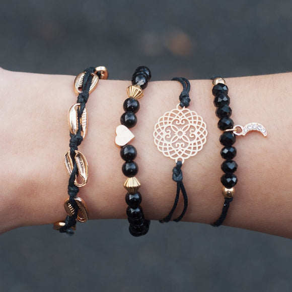Regale Bracelets Set - Simply Basy