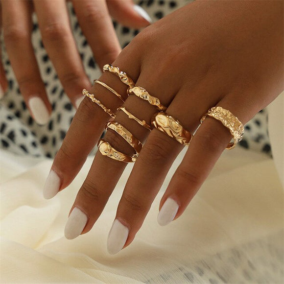 Hjördis Rings Collection - Simply Basy