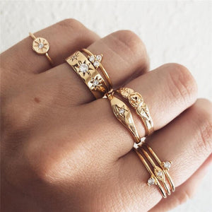 Evelyn Rings Collection - Simply Basy