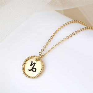 Minimalist Gold Plated Constellation Necklace - Simply Basy