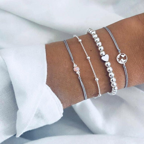 Cosmo Bracelets Set - Simply Basy