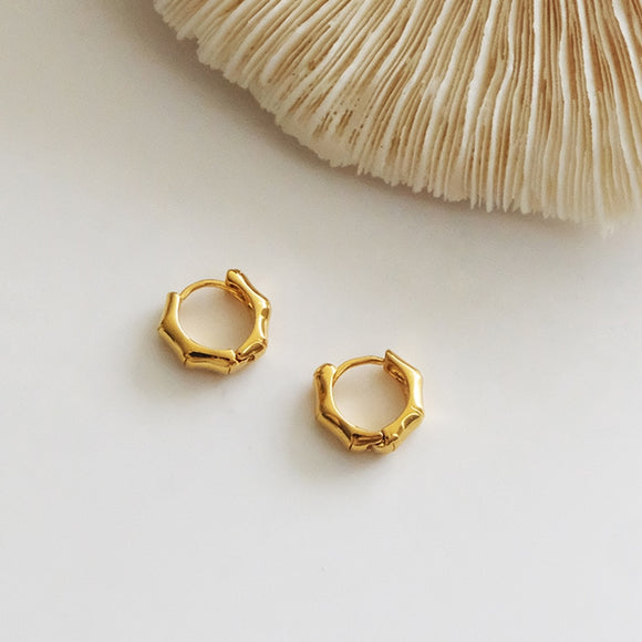 Zelda Bamboo Earrings - Simply Basy