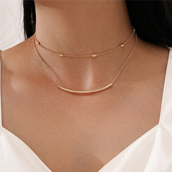 Marleigh Necklace Handmade Jewellery Drop Earrings Hoop Minimalist Accessories Elegant Earrings UK Free Delivery - Simply Basy