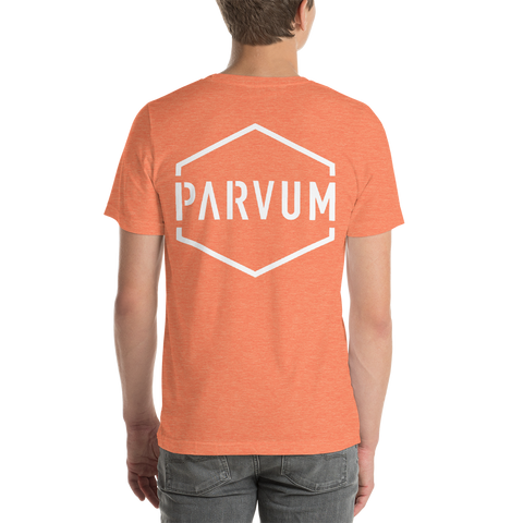 Orange Parvum Rear Logo Unisex Jersey
