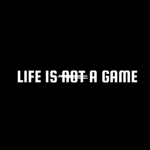 "Video Game Score ""Life is a game"" t-shirt unisexe"