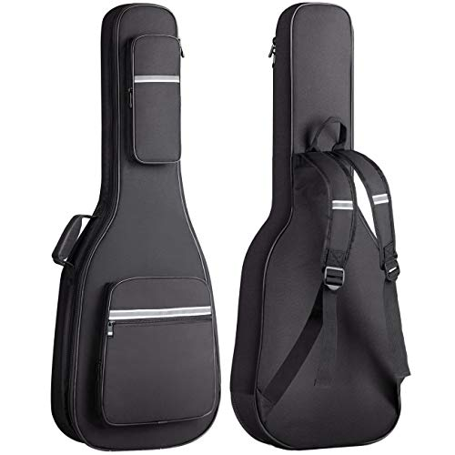 Cahaya Electric Guitar Backpack Bag with Reflective Bands