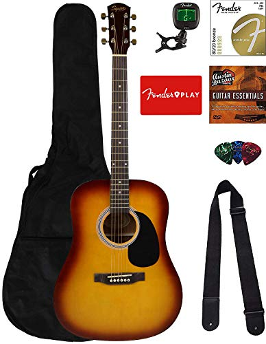 Fender Squier Dreadnought Acoustic Guitar Kit