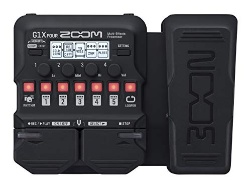 Zoom Multi-Effects Processor Pedal with Expression