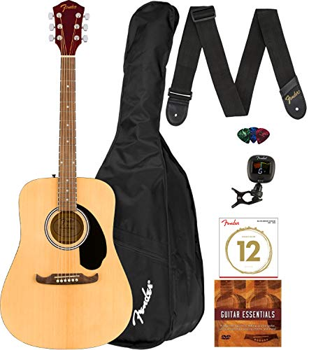 Fender FA-125 Dreadnought Acoustic Guitar Set
