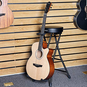 Donner Guitar Stool with Backrest