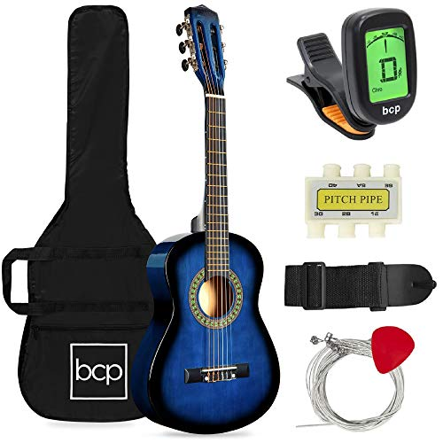 30in Kids Acoustic Guitar Beginner Starter Kit