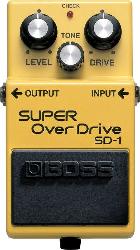 BOSS Super Overdrive Guitar Pedal