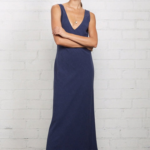 Simona dress, front profile