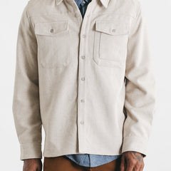 Bridge & Burn Fielding Cream Herringbone Men's Jacket