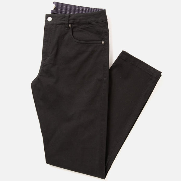 Bridge & Burn Bradley Men's Slim Fit Black Pant