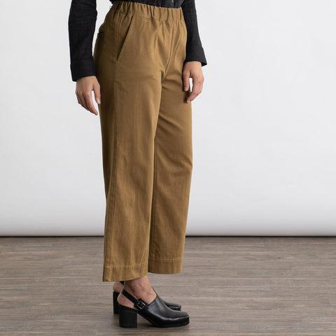 Bridge & Burn Keaton Ochre Relaxed Pant